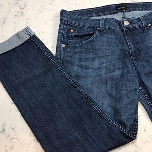 Hudson Cuffed Jeans     NWOT    30